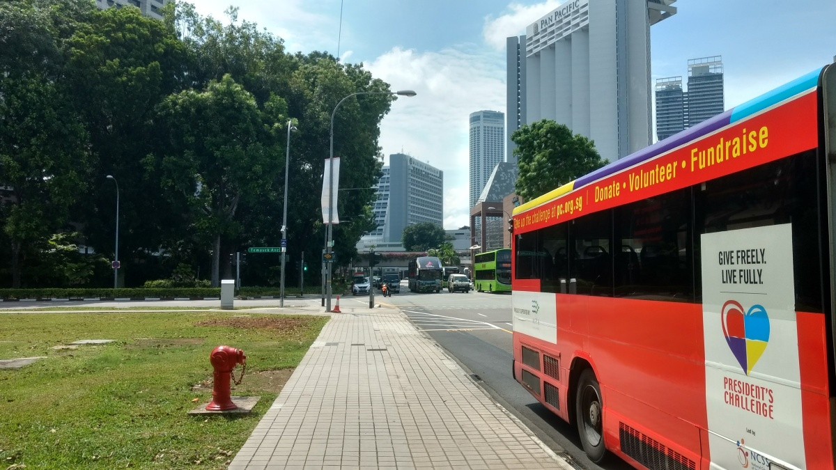 Bus driver is also an ambassador of Singapore