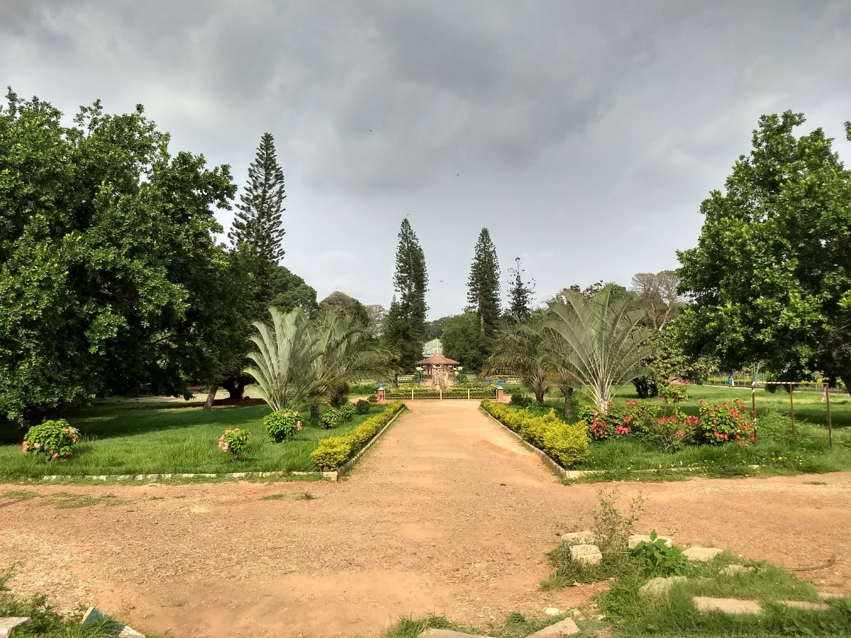 Lalbagh or Red Garden in Bengaluru