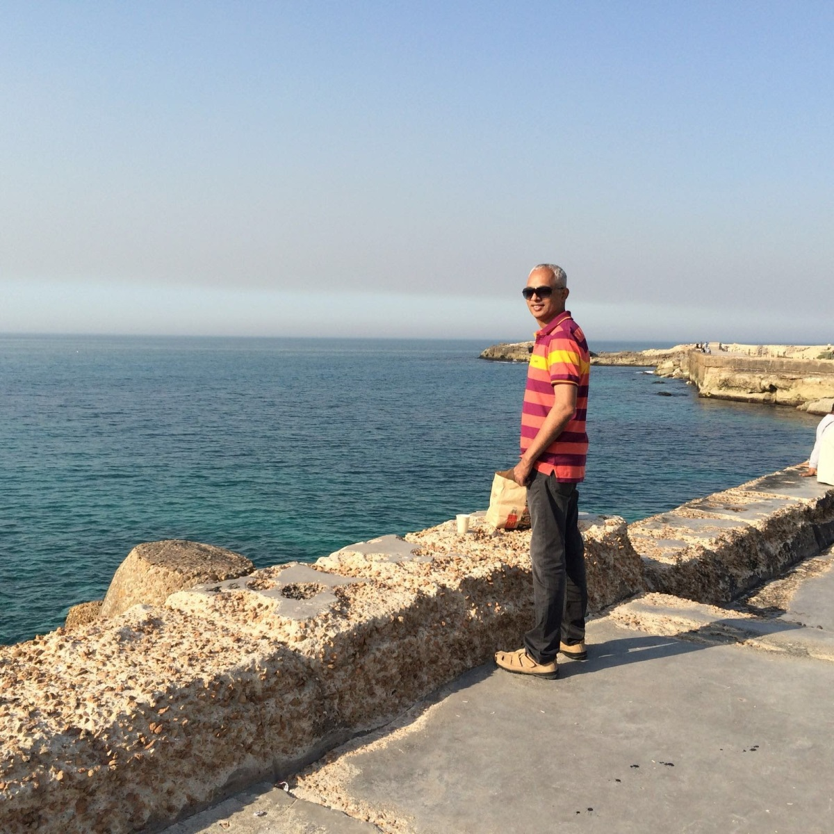 Mediterranean Sea in Alexandria