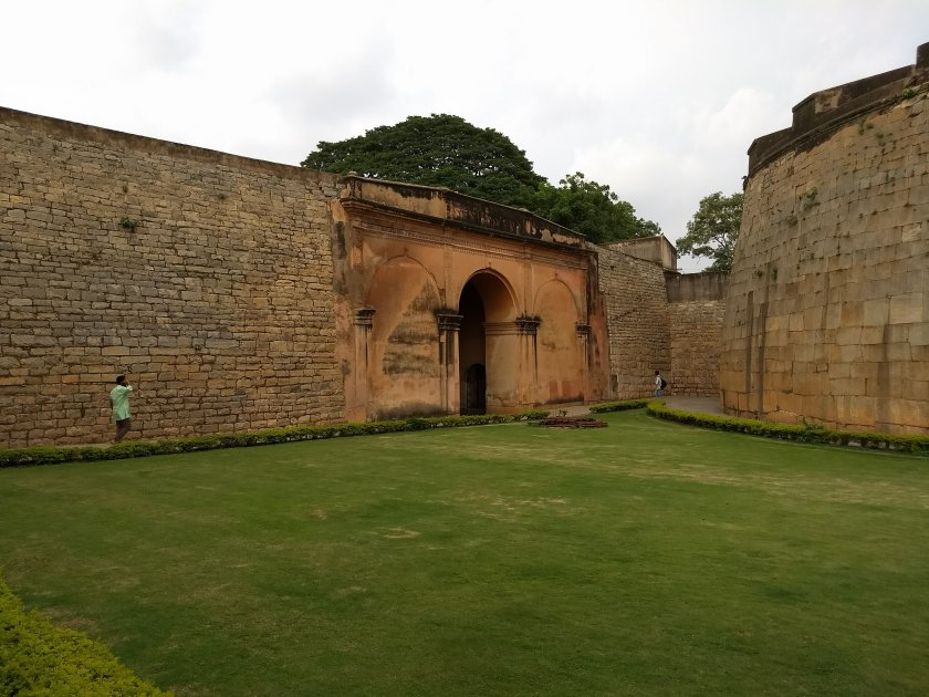 Inside the Bangalore Fort